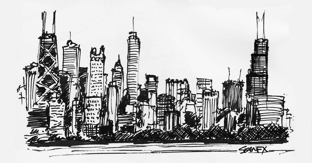 Chicago Skyline Art