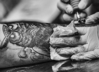 Tribal Owl Tattoo