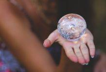 crystal images woman hand girl