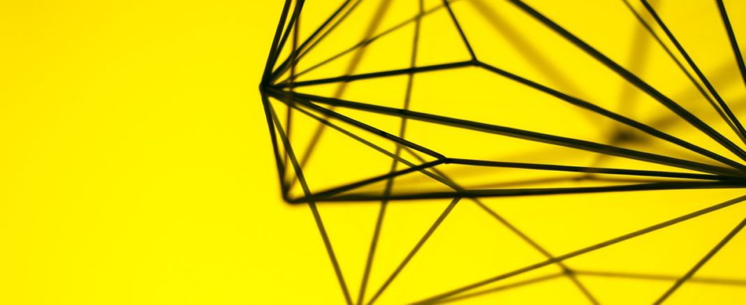 yellow picture metal design decoration
