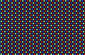 CRT Scan lines - Dot matrix and pixel