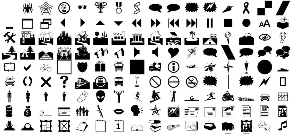 Characters Symbols