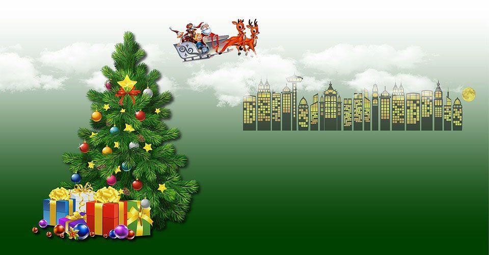 Christmas Tree Cartoon