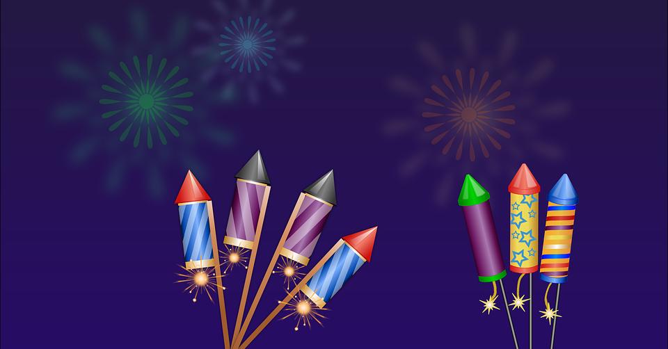 Fireworks Cartoons