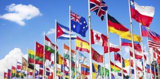 International Flag Colors