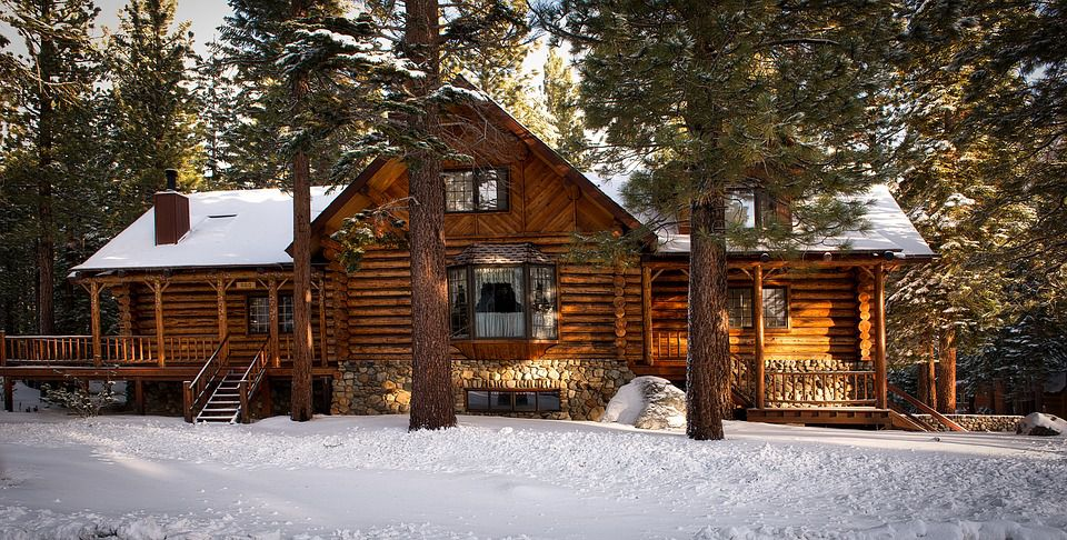 Log Cabin Picture