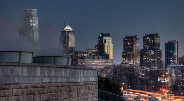 Philadelphia Skyline Art