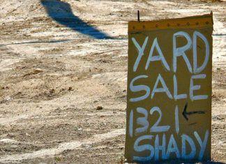 Yard Sale Signs