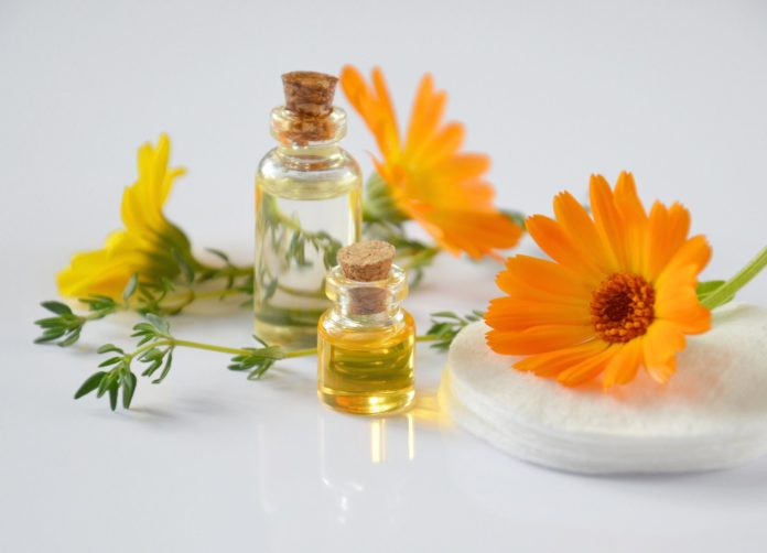 Calendula - October Birthflower - essential oils