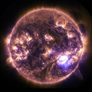 image of Sun or star in Space