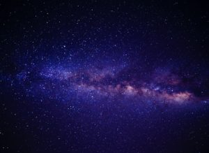 Milky way galaxy - space in the sky