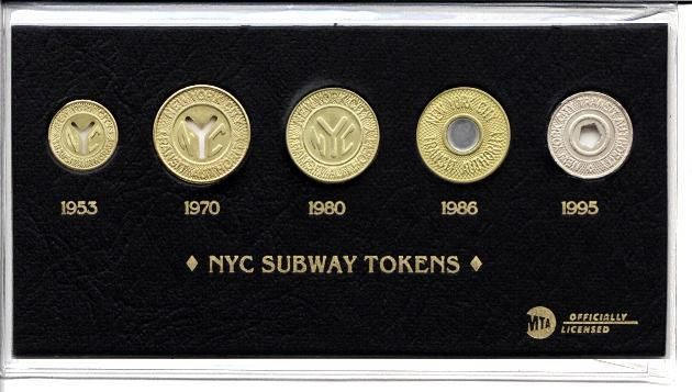 New York City Subway Tokens in History - Mementos from the NYC Timeline